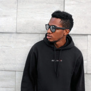 Believe Black Fleece Hoodie