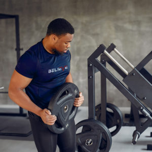 believe athletic fitness tee
